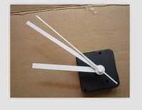 Cheap mute scanning movement cross stitch movement wall clock movement long shaft 20mm movement needle 50pcs lot+2 hooks gift free