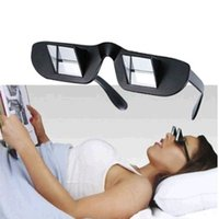Wholesale Lazy Creative Glasses Periscope Horizontal Reading TV Sit View Glasses On Bed Lie Down Prism Spectacles The Lazy Glasses