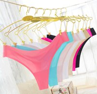 Wholesale Brand New G string Thongs Sexy Women Seamless Secrets Pink Branded Panties Underwear Intimates Lingeries Cotton Briefs Top Quality