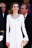 coats - Fashion Beaded Kate Middleton Princess Coat Elegant O Neck Long Sleeve Wool Coat