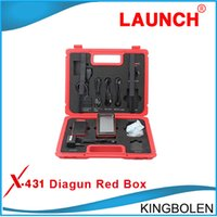 Wholesale Promotion price Launch X431 Diagun Red Box X Diagun II main unit and Bluetooth Connector Newest Version