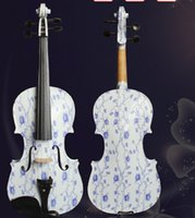 Wholesale High Quality Colorful Custom Painted Violins A Very Fantastic Violin Instrument With Free Fittings