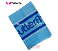 Wholesale Original butterfly towel sweat WTT washcloth table tennis sport towel Size cmx35cm cotton pingpong sports towel