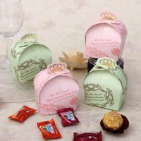 arrival birthday wishes - New Arrival Plenty Of Wish Card Paper Wedding Favor Boxes Holders Three Color Candy Boxes Wedding Party Gifts For Guests WY88