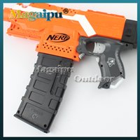 ammo - Nerf banana Mags Ammo Clips Demolisher Round Refill Dart Magazine darts clips compatible with all nerf N STRIKE ELITE