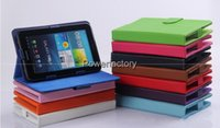 Wholesale Universal inch PU Leather tablet PC case With Stand for inch leather stand case fast shipping