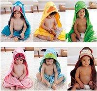 baby bathrobe - 100 cotton baby beach gown Child bathrobe beach towels baby cloak cape baby bath towel child bathrobes