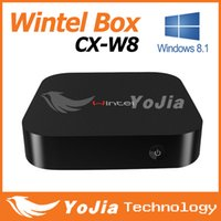 quad core cpu - Original Wintel W8 Mini PC Box with windows8 OS Intel Quad Core GHz CPU G RAM G Storage with Bluetooth faster than android tv box