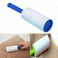 Wholesale Reusable Clothes Coat Sticky Lint Roller Dog Pet Hair Remover Dust Fluff Brush Home Rolling Cleaning Device