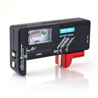 aa electrical wholesalers - Hot Battery Tester Universal Handheld battery Volt checker tester AA C D V V Button BT black