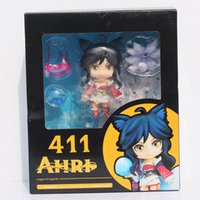 fox boxes - League of Legends LOL Nine Tailed Fox Ahri Q version action figure with box