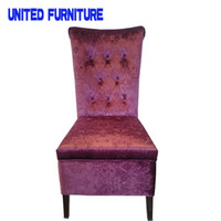 Wholesale High end furniture Europe style furniture with big storge function steel chair dining room chair colors available