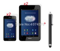 asus padfone stylus - Stylus Pen Glossy Clear Screen Protector For ASUS Padfone Mini Tablet Phone With Retail Package