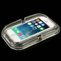 Wholesale Car Dashboard Anti Slip Magic Sticky Silicone Gel Pad Holder for iPhone S iPhone S Transparent M12594