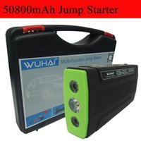 Wholesale WUHAI Super mAh Car Jump Starter Auto Engine EPS Emergency Start Battery Source Laptop Portable Charger Mobile Power Bank