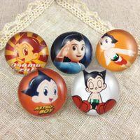 astro gems - Astro Boy cartoon brooch pin brooch time gem gem time students