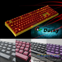 abs mechanical keyboard - ABS Keycaps Keypress Ducky DK s3 for Mechanical Gaming Keyboard Translucent Backlight Backlit