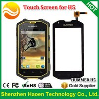 Wholesale Original NEW Touch Screen Touch Panel for HUMMER H5 H5 Waterproof Rugged Smart phones Hummer H5 Touch Panel Screen H5 TP