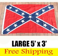 Wholesale REBEL Confederate flag US FLAG BATTLE SOUTHERN FLAGS REBEL CIVIL WAR FLAG