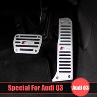 aerospace brakes - Exterior Accessories Car Stickers Original design sline Aerospace Aluminum alloy Car brake accelerator pedal for A4L A5 A7 A8 Q5 Q3 Q7