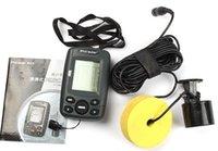 Wholesale FF108 M Portable Sonar Sensor Fish Finder Fishfinder LCD Transducer Sonar Depth Fishing Sounder Outdoor Fishing Tools