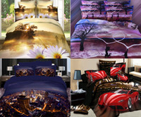 bedroom comforter sets - Fashion d Bedding Sets Oil Painting Scenic Romantic Bedroom Cotton Comforter Sets Queen Full Bed Duvet Cover Set