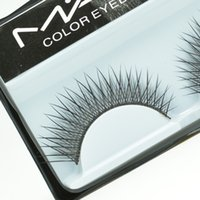 50pairs false eyelashes - Designs Mix Brand Black Cilios Soft Natural Long False Eyelashes Handmade Eyelash Extension Mascara Freeshipping