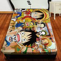 Wholesale Anime Manga Throw Blanket One Piece Blanket
