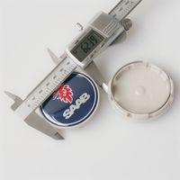 acura auto accessories - cap primer MM SAAB Wheel Hub Center Badge LOGO Caps Fits for BJ SCS SAAB AUTO ACCESSORY