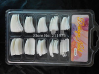 acrylic nail school - Natural Color ACRYLIC GEL FALSE FRENCH NAIL ART TIPS Salon School Tools