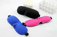 Wholesale High Quality Travel Sleep Rest Sleep Masks D Sponge Eye Shade Sleeping Eye Masks Cover Nap Rest Patch Blinder For Health Care
