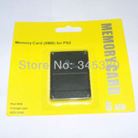 Wholesale 10pcs High quality M High Speed Memory Card for PlayStation PS2 MB Memory Card FAST SHIPPING