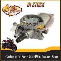 47cc dirt bike - Motor Motorcycle Carburetor Carb Fit For cc cc stroke Pocket Bike ATV Quads mini Dirt Bikes G Scooters Hand Choke Motorbike Enginne
