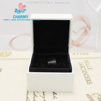 Cheap 5*5*4cm Charm Box With Sponge Can Be Used For Pandora Rings&Earrings