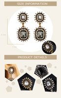 Cheap 2 Pairs A Lot Drop Diamond Earrings For Girls 2015 Fashion Costume Jewelry Stores With Flower Personalized Gifts Pendants With Gemstone 9708