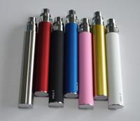 ego batteries ego batteries - 2pcs Ego battery E cigarette batteries for e cig e cig vaporizer electronic cigarette ego ce5 ce5 start kit RDA atomizer Machanical mods