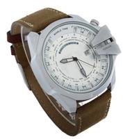 Wholesale Hot Selling waterproof leather strap watch DZ4305 quartz military watches dz watches wear men s watch