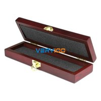 Wholesale New Retro High Grade GIFT Wooden Box Case for Straight Razor CUT THROAT Knife order lt no track
