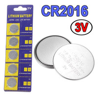Wholesale NEW PK CR2016 CR DL2016 BR2016 ECR2016 V LITHIUM BATTERY Coin Cell Button For Watches Clocks Calculators Long Lasting