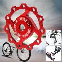 Wholesale 2015 MTB Kactus A04 Aluminium T Jockey Wheel Rear Derailleur Pulley for SHIMANO SRAM Speed Bicycle Parts