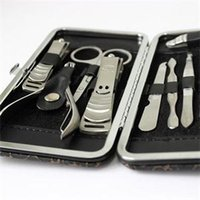 ab scissor - New BA Popular Delicate In Stainless Steel Nail Tool Set Multi Function Modern Nail Clipper Cutter Scissors AB