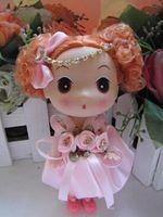 Wholesale 12cm mini girl Car doll baby Christmas gift