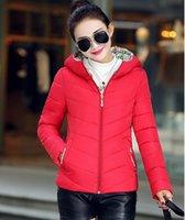Abrigos Otoño un nuevo tipo de vestido abajo acolchado corto delgado abrigo femenino mujeres de moda femenina de Corea