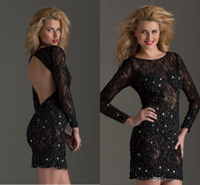 Cheap Long Sleeve Best Homecoming Dresses