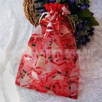 Wholesale 2015 New High Quality Christmas jewelry bag Colorful Candy Bag Ring Bag Christmas Snowman Yarn Bags Mix Color cm cm cm