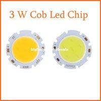 Wholesale 10pcs Round COB Super Bright W Cob Led Chip DC9 V Warm White White Led Cob Chip