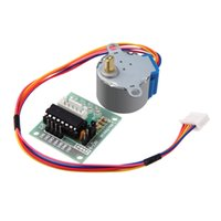 Cheap 4-Phase Stepper Step Motor + Driver Board ULN2003 for Arduino with drive Test Module Machinery Board Tools 5V H14723