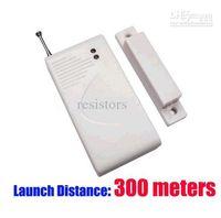 Wholesale Quality Wireless Door Window Magnet Sensor Detector Alarm M lots500 DHL UPS EMS