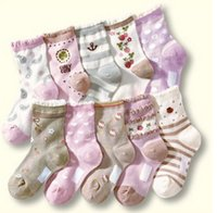 Wholesale New Children s summer mesh socks full cotton socks multicolor girls lovely sock pairs set set