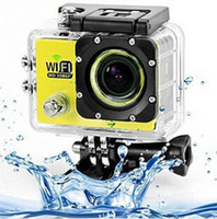Wholesale 2015 Original SJ6000 WIFI Action Camera Sport Camera Waterproof M Mini Camcorder FHD Gopro Style Not Go Pro SJ inch